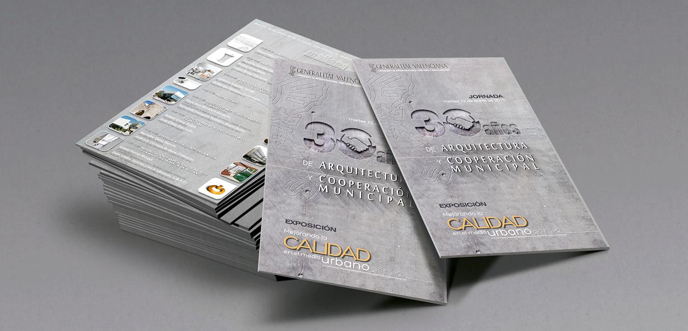 folleto jornada 30