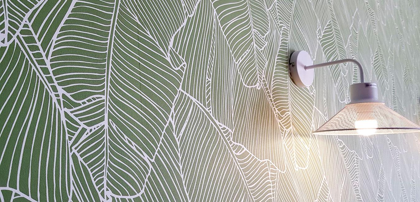 papel pintado restaurante