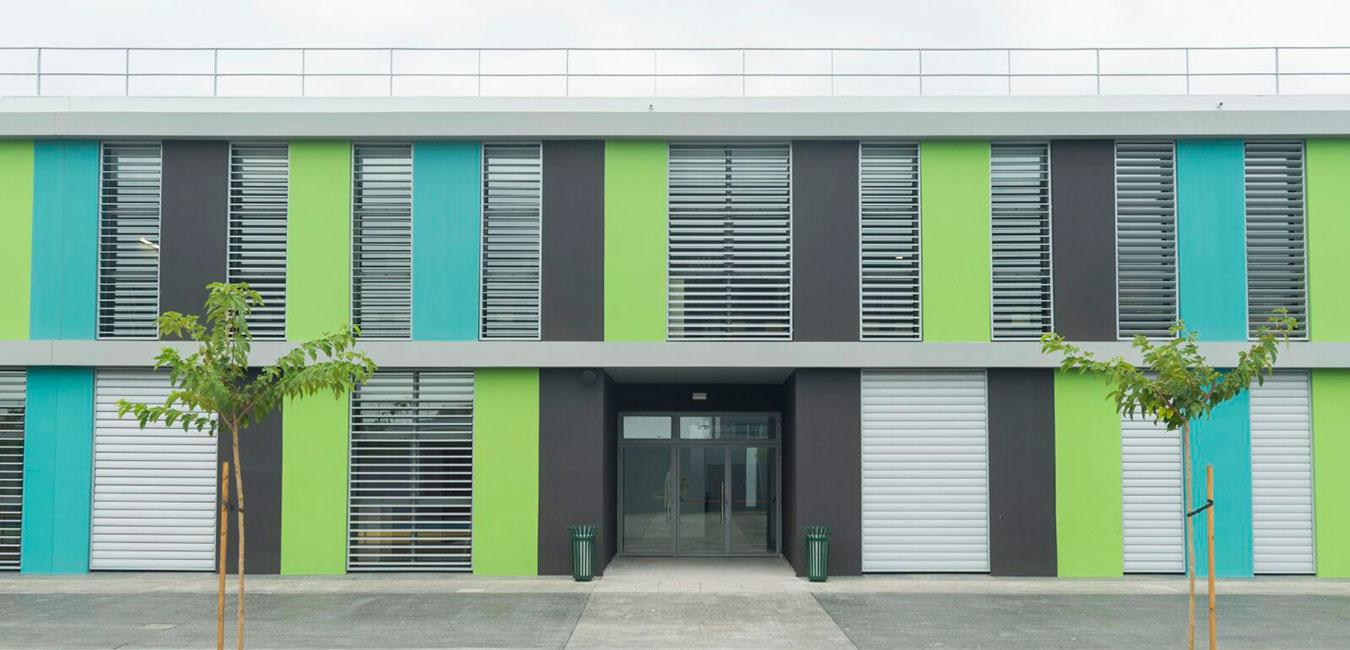 fachada colores