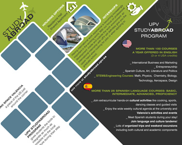 upv study abroad flyer detras