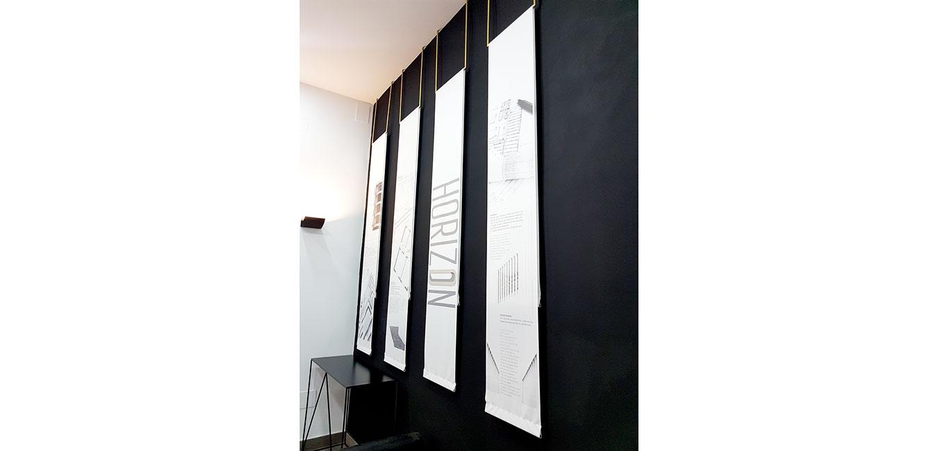 decoracion vertical entrada