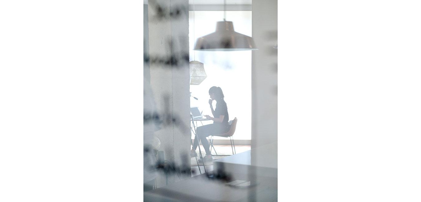 reflejos pizarra cristal