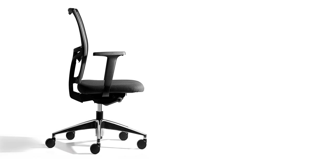 silla Net negra