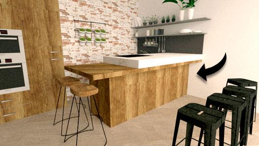 cocina nutralab 3d