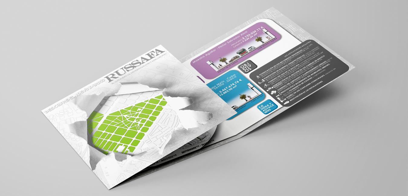 folleto explicativo obras russafa